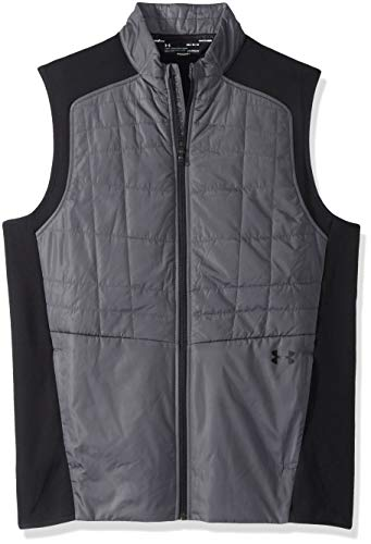 Under Armour UA Orage Isolé Gilet Homme, Rhino Gray/Black/Black (076), FR : S (Taille Fabricant : SM)