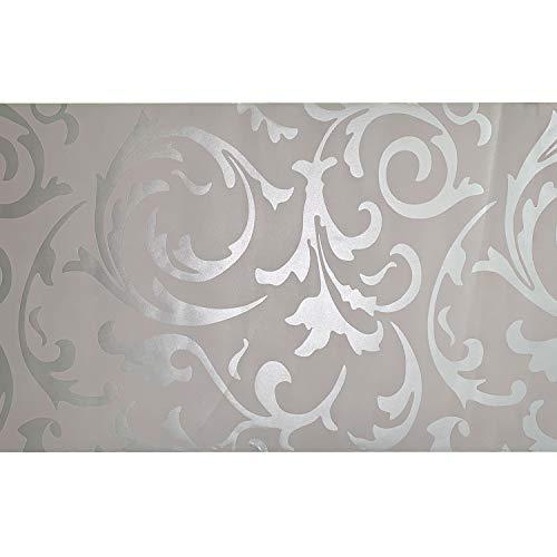 AllRight Vliestapete Tapeten Vlies Wand 3D Barock Rolle Wandtapete Dekoration 0.53 x 10M