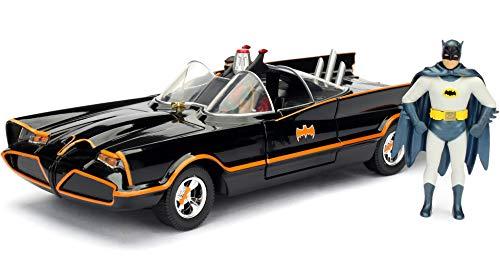 Batmobile 1966 com Figura 1/24 Jada Preto