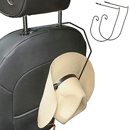 2 Pack Cowboy Hat Holder Rack for SUV Pickup Truck