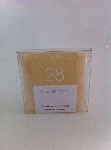 carrés fondants pour brûle parfum FLEUR DE COTON