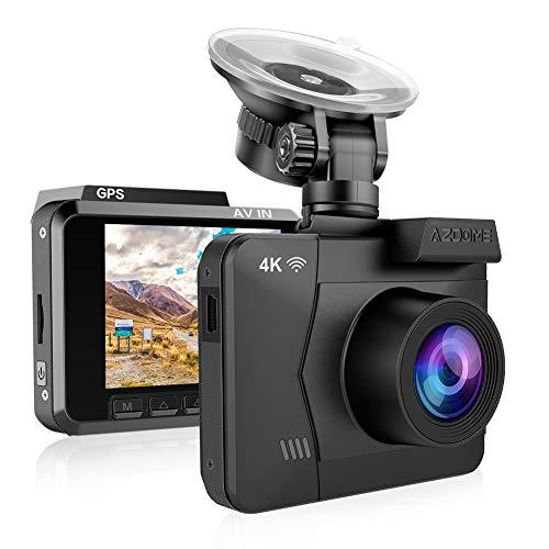 Cámara de Coche 4K 2160P WDR con WiFi y GPS,Dashcam Grabadora Ultra HD,Dash CAM...