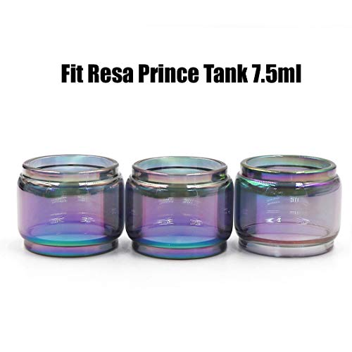 CENGLORY Silicone Anti Slip Band Rings Attached Drip Tip Cover for Prince Bulb Glass Protection Skin 2PCS,Green 810