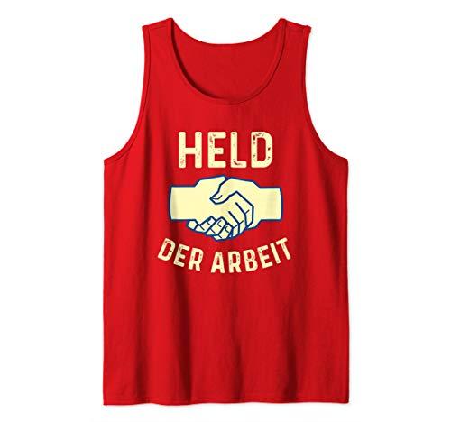 Held Der Arbeit | DDR | Ostalgie | Retro | Kommunist Fun Tank Top