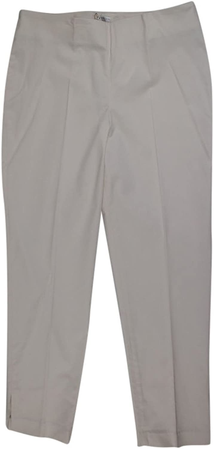 Brunello Cucinelli Women's Cream Cotton Blend Casual Pants 6 42