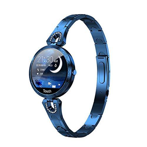 ZGLXZ AK15 Smart Watch Women 2021 Presión Arterial Monitor De Ritmo Cardíaco Pulsera IP67 Reloj Impermeable para Android iOS,D