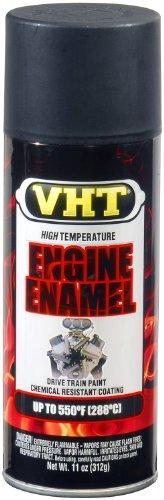 VHT SP139 Engine Enamel GM Satin Black Can - 11 oz.