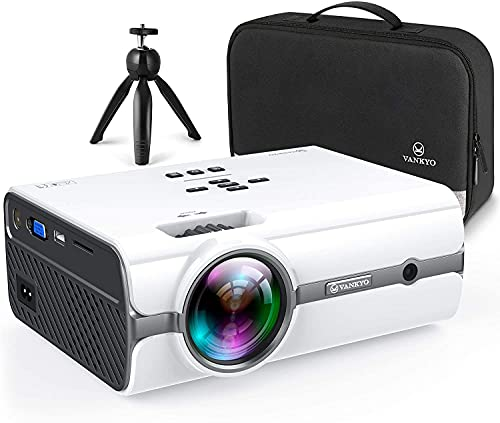 VANKYOPRO Leisure 410 Mini WiFi Projector , 1080P...