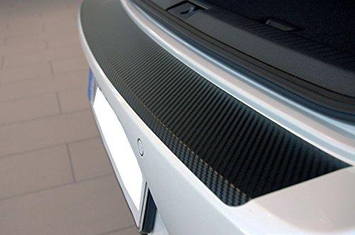 Unbekannt Ladekantenschutz-Carbon-Style-Folie - Schwarz