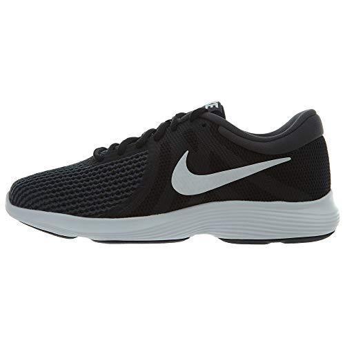 Nike Women's Revolution 4 Running Shoe, Black/White-Anthracite, 8 Regular US