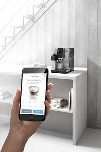 DeLonghi-ECAM-37085SB-Dynamische-Kaffeevollautomatik-1450-W-18-Liter-Kunststoff-Silver-E-Nero