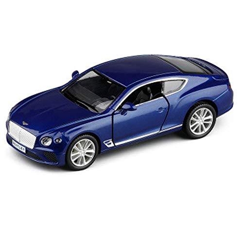 LKOER Car model, 1:36 Simulation Model Of Sports Car Alloy Die-cast Toy Car Ornaments Collection Of Jewelry 12.5x5x4cm (Color : Red) jinyang (Color : Blue)