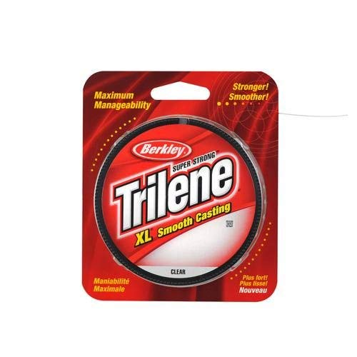 Berkley Trilene XL Smooth Casting Monofilament Service Spools (XLPS2-15), 110 Yd, pound test 2 - Clear