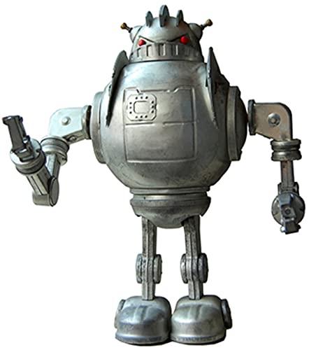 Robot Decorativo de Hojalata Plateado Zathura . Robots de Cuerda. Colección. Regalos Originales. Detalles para Cumpleaños, Navidad y Reyes. PR