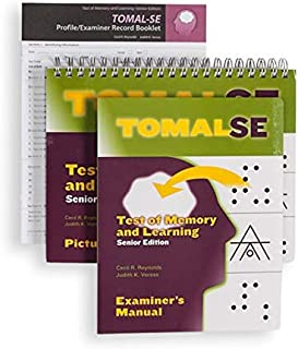 Best test of memory and learning tomal Reviews