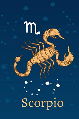 Scoprio: Zodiac Astrology Design Journal 6x9 (Astrology Notebook & Zodiac Gifts)