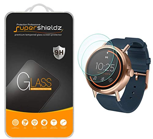 (2 Pack) Supershieldz Designed for Misfit Vapor 2 (41mm) Tempered Glass Screen Protector, 0.33mm, Anti Scratch, Bubble Free