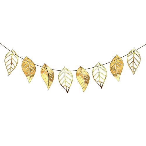 Jingyuu Banner Blume Wimpelkette Banner Dekoration für Party Hochzeit Geburtstag