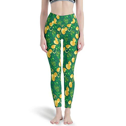 JEFFERS Vrouwen Digitale Print Yoga Broek St Patrick's Day Workout Naadloze Yoga Leggings voor Meisjes