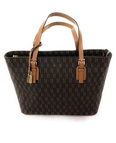 Alviero Martini 1a classe Medium Shopping Bag Dark Brown