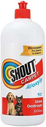 Shout Carpet Turbo Oxy Urine Destroyer Carpet Cleaner Completely Removes Tough Urine Stains product image
