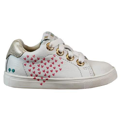 BunniesJR Lucien Louw - Kinderschoenen Meisjes Maat 24 - Wit - Sneakers