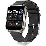 Doubc Smart Watch, 1.69'' HD Full Touch Screen Fitness Watches Sport Tracker with Heart Rate, Sleep, Stopwatch, Pedometer Tracking Running Watch, IP68 Waterproof Activity Smartwatch for Men Women