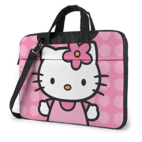 Hello Kitty Party Laptop Bag Busin Valigetta per uomo Donna, tracolla Menger Custodia per laptop Custodia per trasporto - 15,6 pollici