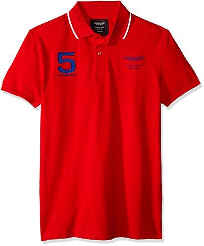 Hackett London Amr Hkt Ucllr - Polo pour homme, rouge, XL