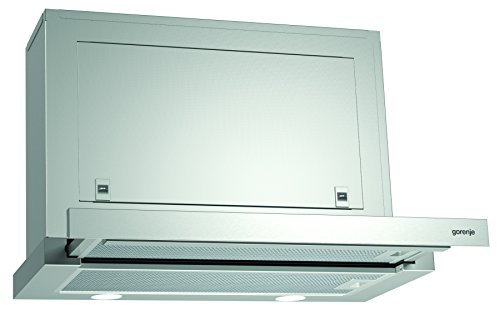 Gorenje BHP 613 E7X Flachschirmhaube/ 60 cm/AB- oder Umluftbetrieb möglich/Anti-Fingerprint-Beschichtung, Edelstahl