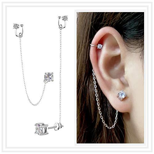 Cubic Zirconia Earrings - Crystal E…