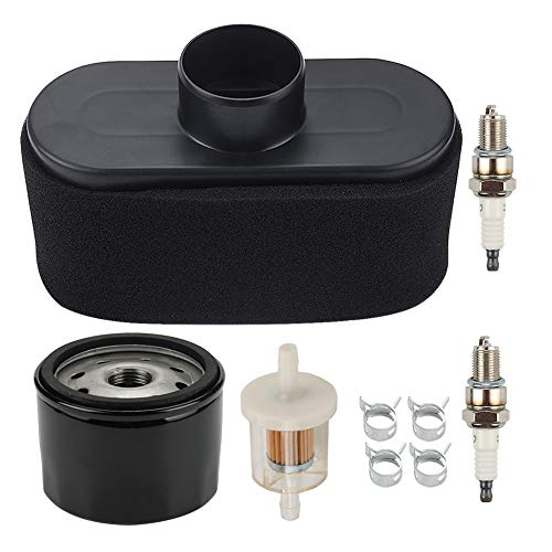 Butom 11013-7047 Air Filter 49065-7007 Oil Filter for Kawasaki FR651V FR691V FR730V FS481V FS541V FS600V FS651V FS691V FS730V LG265 603059 Lawn Mower MIU12555 KM-11013-7047