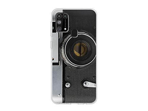 etuo Custodia per Samsung Galaxy M31 – Fantastic Case – Retro Aparat
