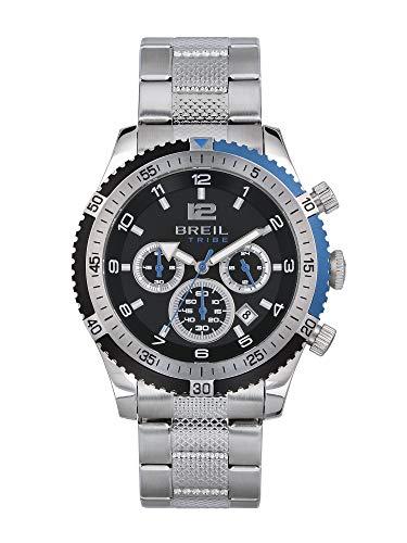 Breil Uhr Race Watches Kollektion, Chrono Quarzwerk und Stahlarmband für Man