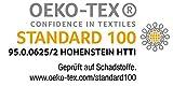 Bierbaum Bettwäsche 4757, Mako-Satin, Made in Germany, limone 18, 135x200 + 80x80 cm - 6