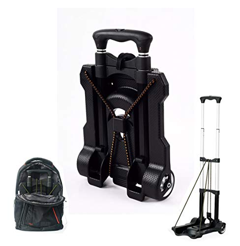 Portable Folding Hand Truck Dolly Utility Cart Foldable Trolley