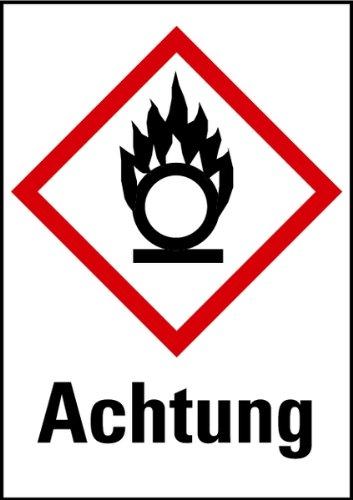 gefahrensymbol brandfördernd