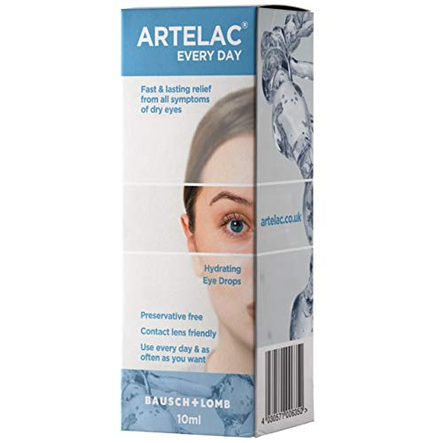Artelac Every Day 10ml Eye Drops for Relief from All Dry Eye Symptoms