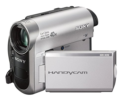 Sony DCR-HC52 MiniDV Handycam Camcorder with 40x Optical Zoom (Renewed)