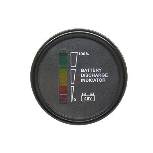 Total Source 3661343007926 Indicateur de batterie décharge/contrôleur, 48 VDC