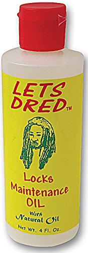 Lets Dred Locks Maintenance Oil 100% Natural Earth Oil 118ml