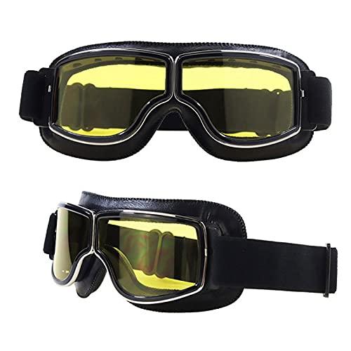CHQY Gafas de sol retro para hombre y mujer, para deportes al aire libre, anti-UV, resistente al viento, banda elástica ajustable A