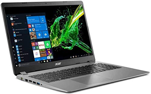2020 Acer Aspire 3 15.6' FHD 1080P Laptop PC, Intel Core i5-1035G1 Quad-Core Processor, 8GB DDR4 RAM, 256GB SSD, Ethernet, HDMI, Wi-Fi, Webcam, Numeric Keypad, Win10 Home, Steel Gray (Renewed)