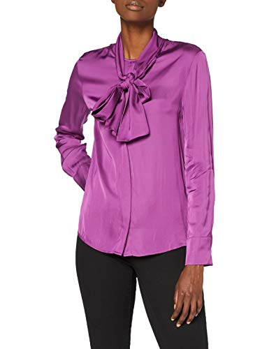 Replay W2027 .000.83886 Bluse, Damen, Lila XS