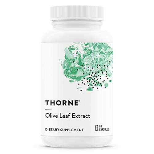 Thorne Research - Olive Leaf Extract - Botanical Extract with Natural Antioxidant Properties - Immune Function Supplement - 60 Capsules