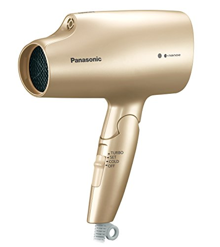 Panasonic Hair Dryer Nano Care EH-NA5A-N 100-120V/200-240V, Gold Nevada