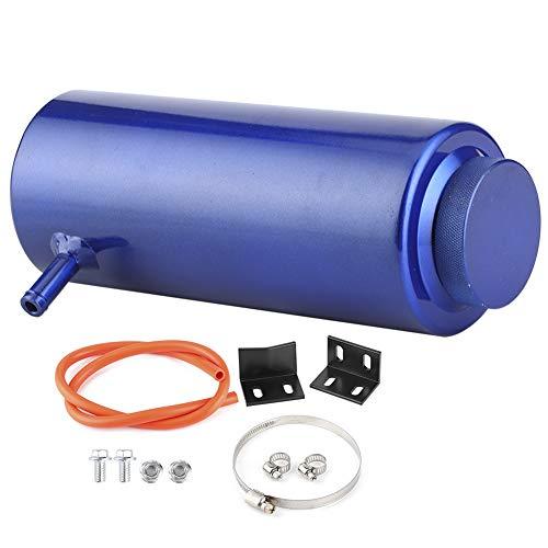 EBTOOLS Überlaufbehälter, 800 ml Universalkühler Kühlmittel Auffangbehälter aus Aluminiumlegierung Überlaufbehälter Kühlsysteme Kühlmittelrückgewinnungskits