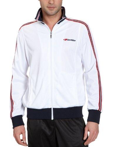 Lotto Sport - Chaqueta de Deporte para Hombre, tamaño L, Color Blanco