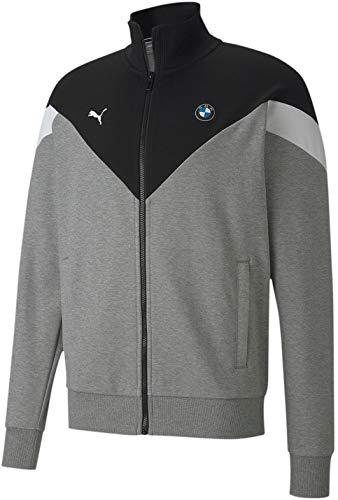 PUMA Fórmula 1 BMW Motorsport Mcs - Sudadera para hombre, talla M, color gris jaspeado