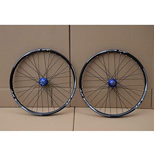 Hs&con MTB Bicicleta Wheelset 26 27.5 29 en la Rueda de la Bicicleta de montaña Aleación de Doble Capa llanta Rodamiento Sellado 7-11 Cassette de Velocidad HUB Freno de Disco 1100G QR